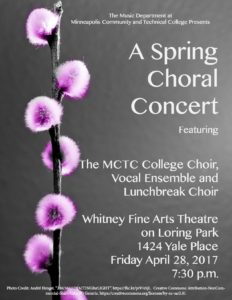 Spring Concert Poster Image