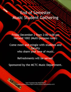 End of Semester event