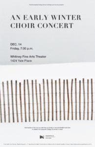 Winter Choir Poster