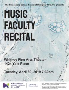 Faculty Recital Poster