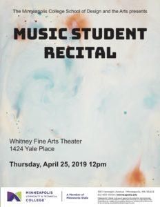 Student Recital Poster