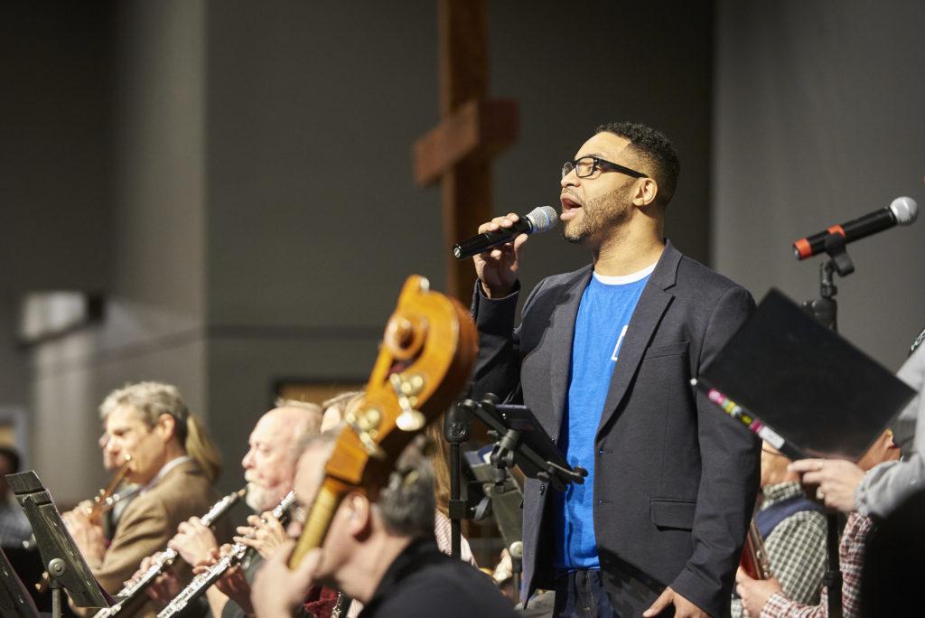 Joseph Garnier sings with Minnesota Orchestra.