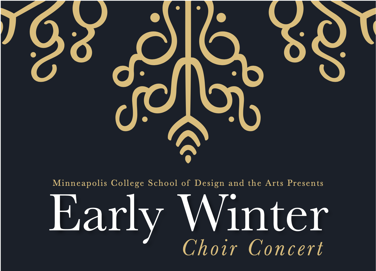 Early Winter Choir Concert graphic